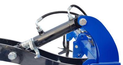 Regulacja hydrauliczna głębokości pracy