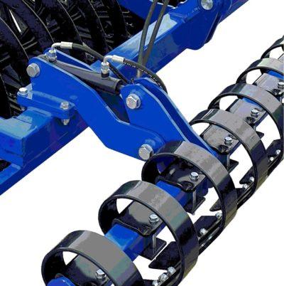 Hydrauliczna regulacja włóki-min